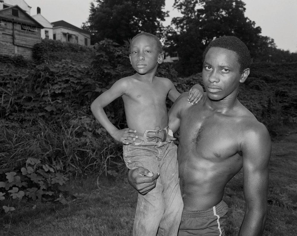 Alan and Friend, Vicksburg, MS, 1983 by Baldwin Lee