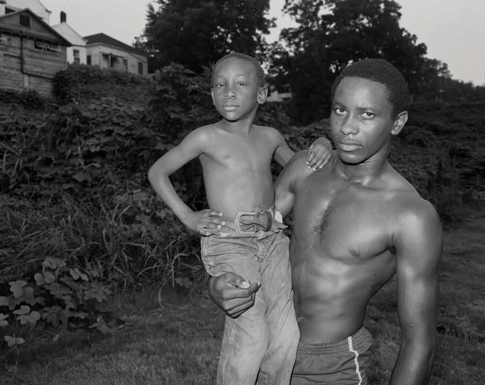 Alan and Friend, Vicksburg, MS, 1983 by Baldwin Lee