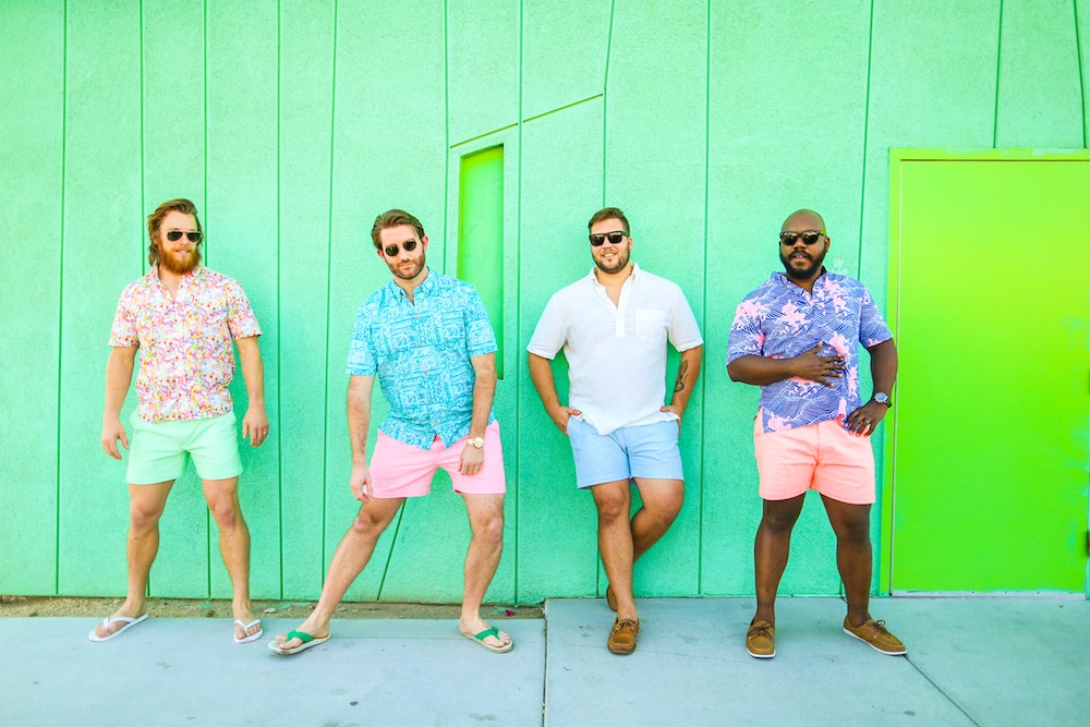 Short shorts from Chubbies