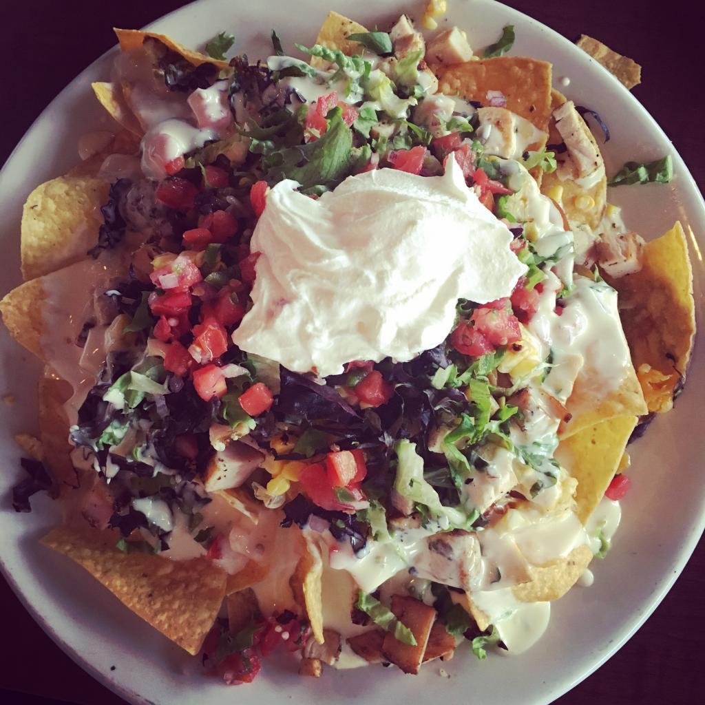 The nachos ole at Red Pepper Taqueria.