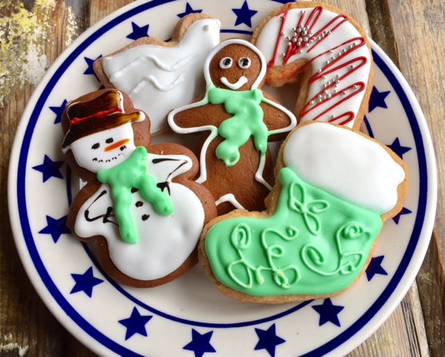 Holiday cookies at Star Provisions.
