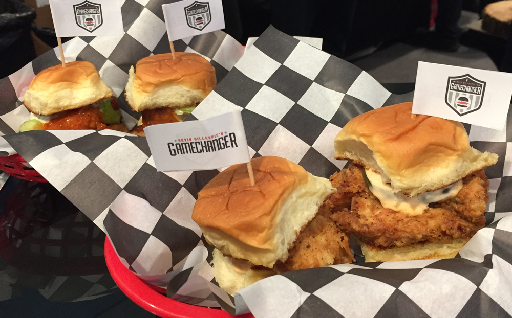 Food at Mercedes-Benz Stadium