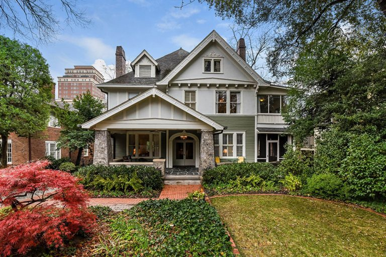 House Envy: Atlanta power couple selling one of Ansley Park's oldest homes