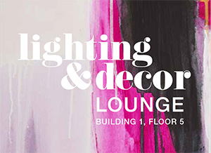 AmericasMart Lighting & Decor lounge