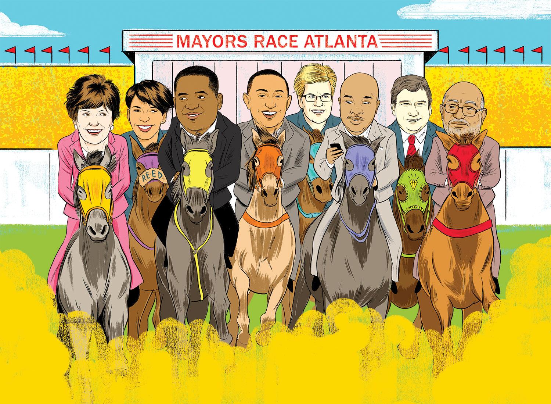 Atlanta Mayor Race 2017