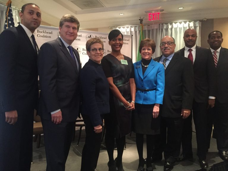 """Atlanta mayoral race kicks off with barbecue, """"The Art of the Deal,"""" and early jabs"""