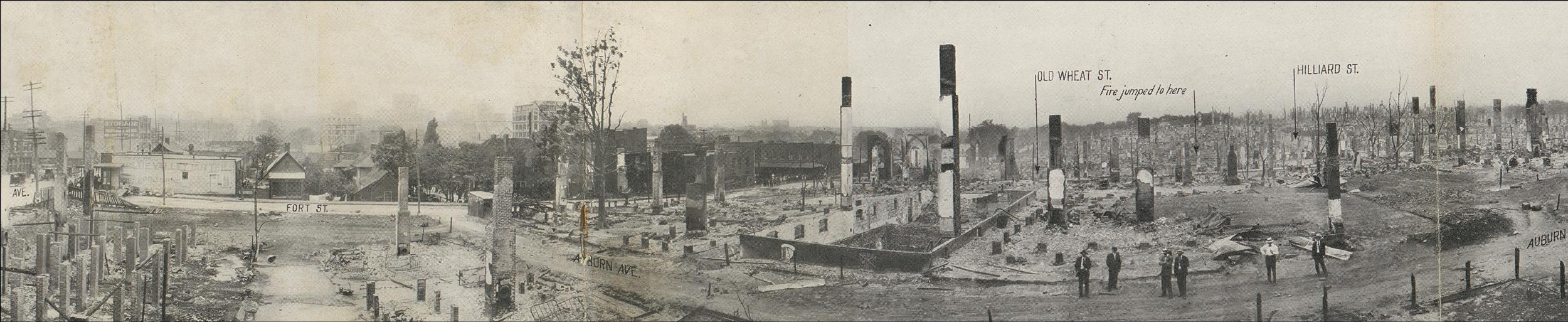 Great Fire of 1917 Atlanta