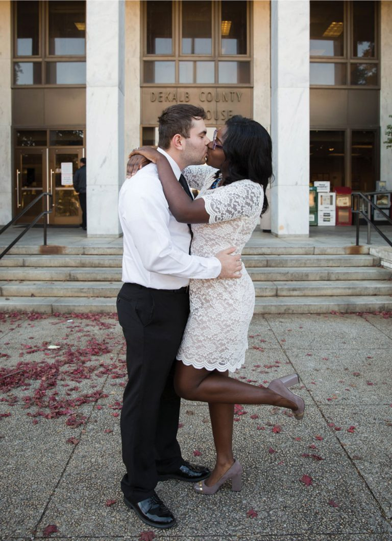 Love at the DeKalb County Courthouse