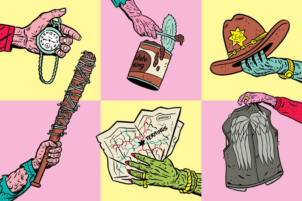 The Walking Dead items