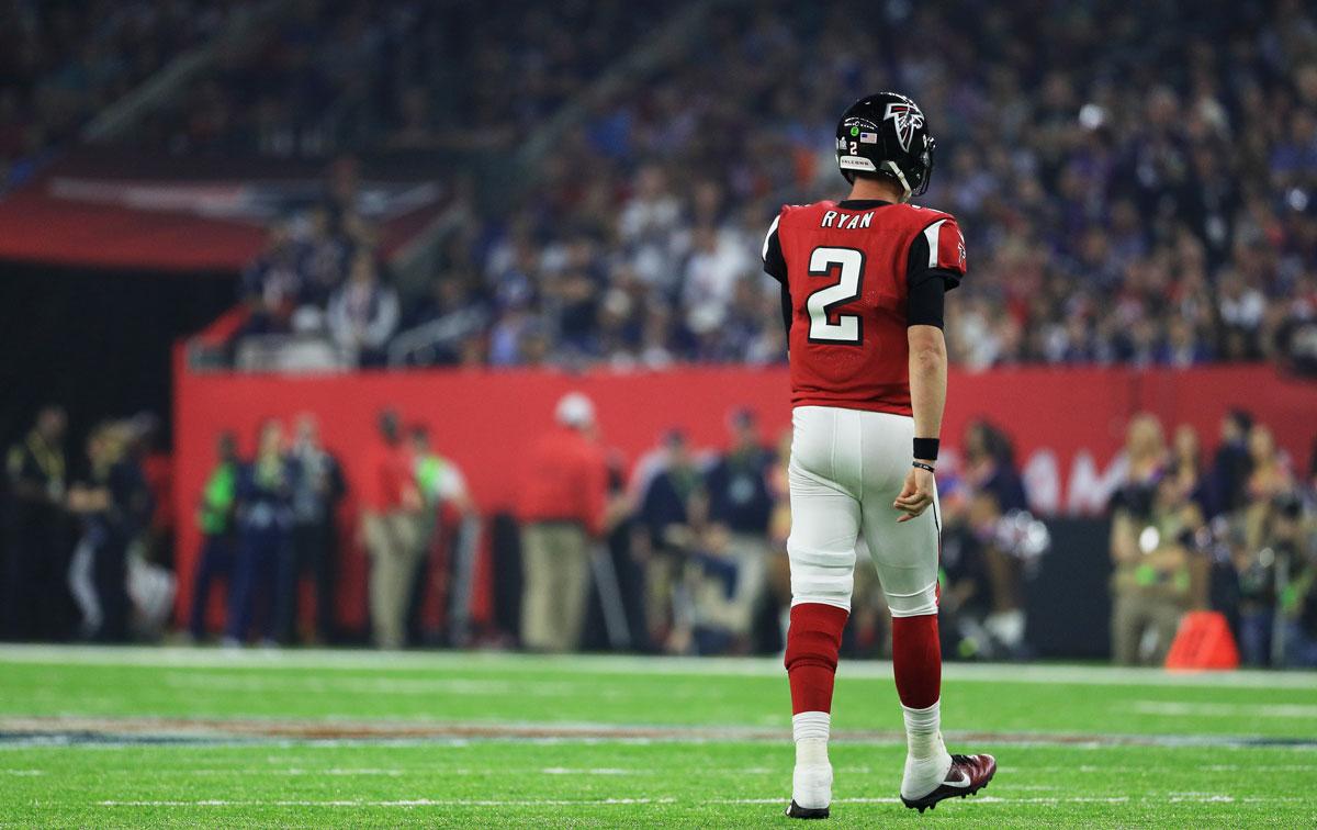 Matt Ryan Atlanta Falcons Super Bowl loss