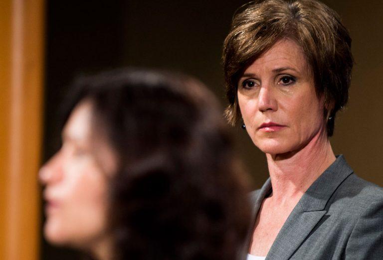Georgia Senate seems happy to honor anyone—but not Sally Yates