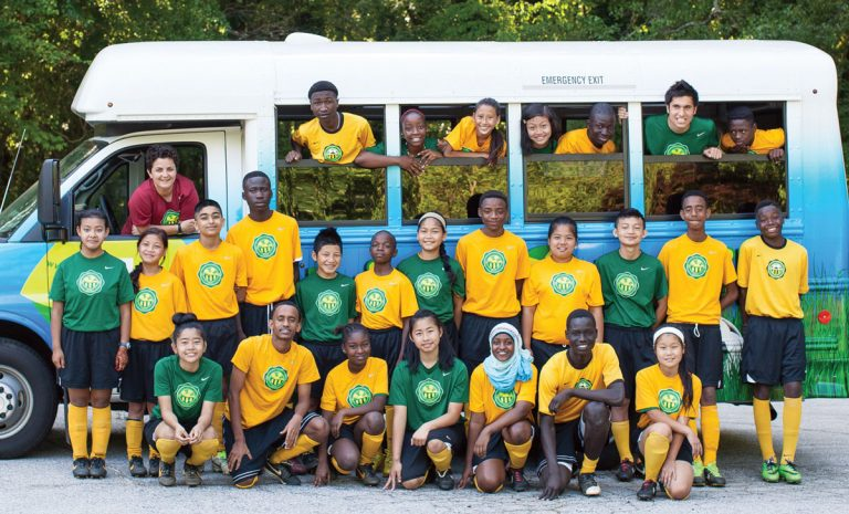 Soccer is a uniting force at Fugees Academy