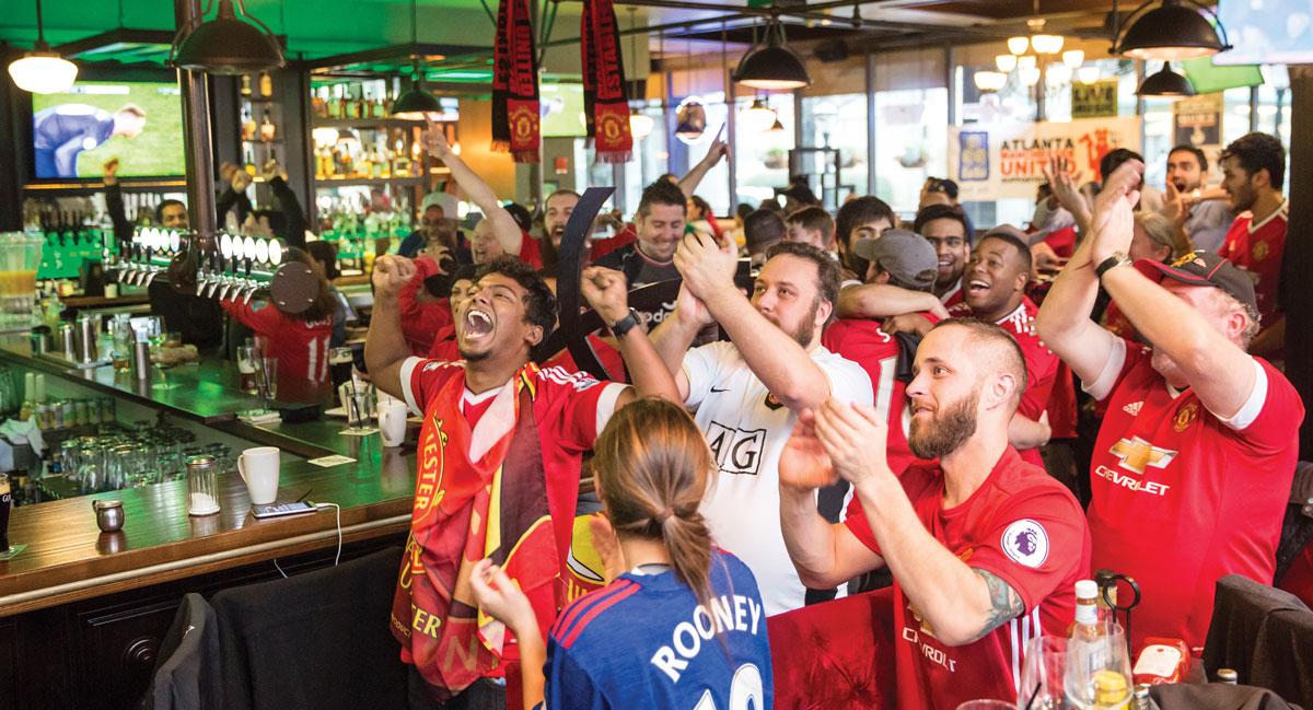Soccer Manchester United football Atlanta