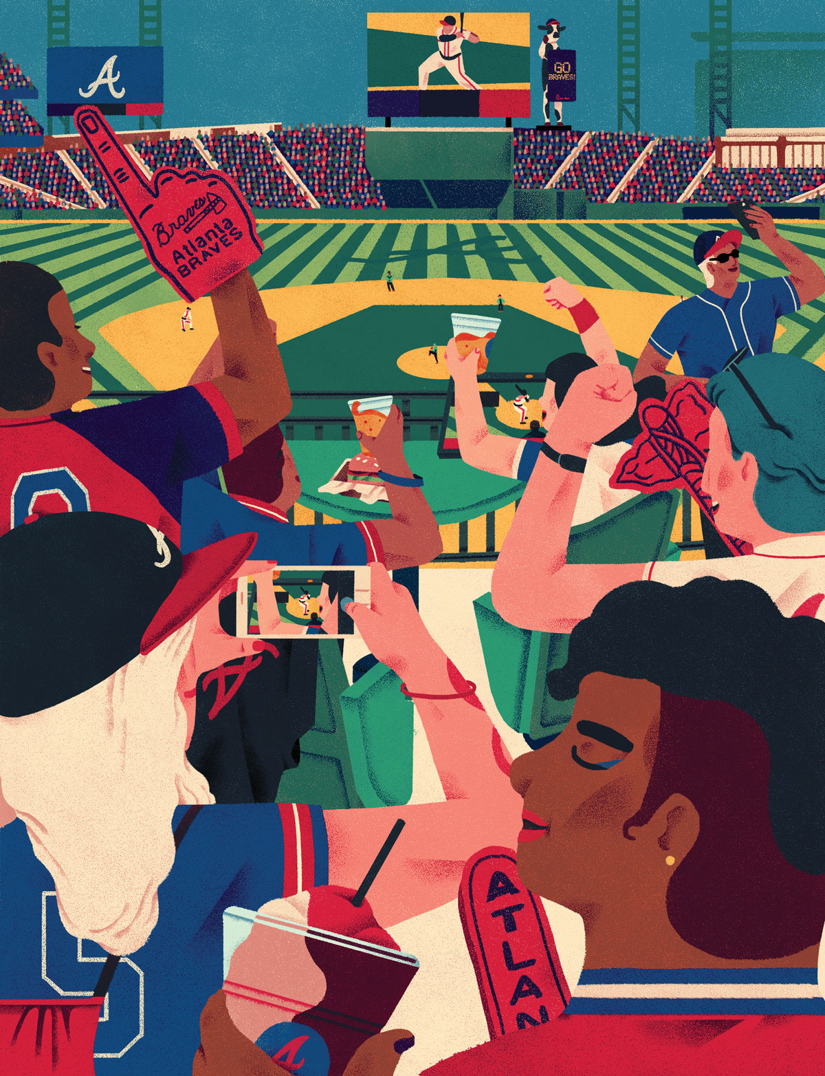Braves SunTrust Park graphic