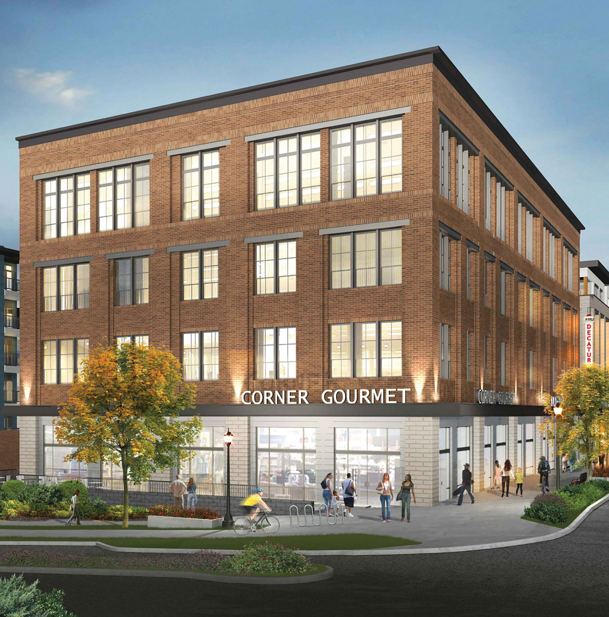 New Construction Apartment Building: A New Development Will Boast Downtown Decatur's First New