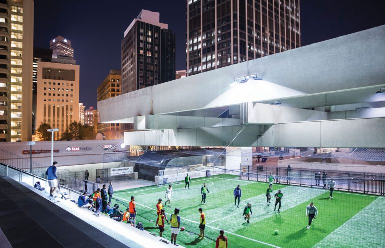Soccer in the Streets brings the game to MARTA's Five Points station