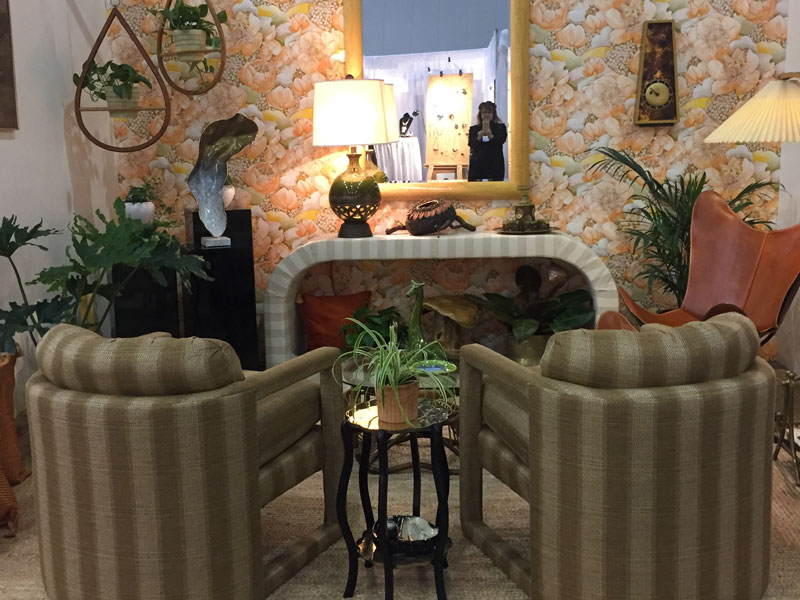 This Vignette By Laurie Scholl Of The Wish List Antiques U0026 Interiors Takes  Inspiration From The 1970s.