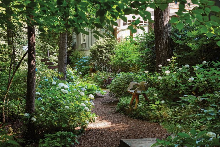 This Sandy Springs couple's garden shows how patience makes perfect