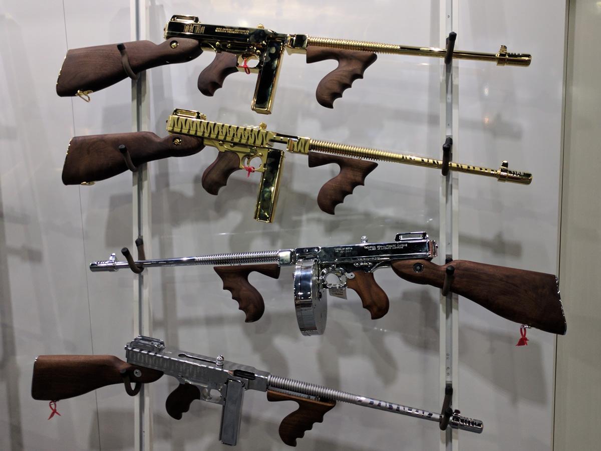Thompson submachine guns