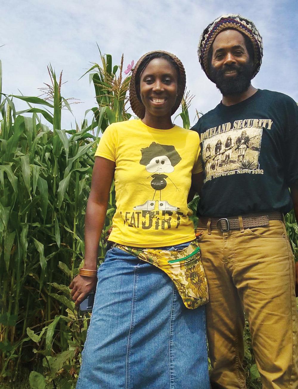 JoVonna Johnson Cooke and Eugene Cooke