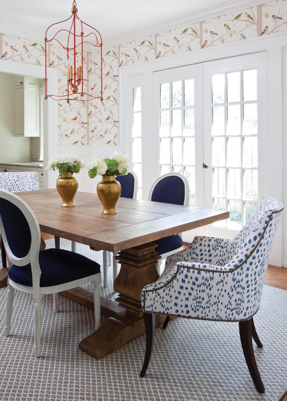 Virginia-Highland dining room