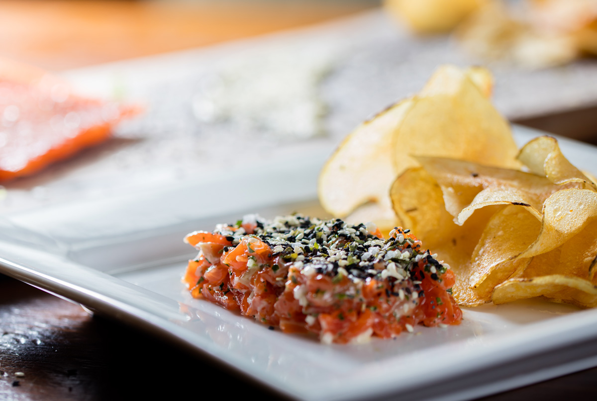 "Local Three Kitchen & Bar, ""Steel-Hand"" Tartare"