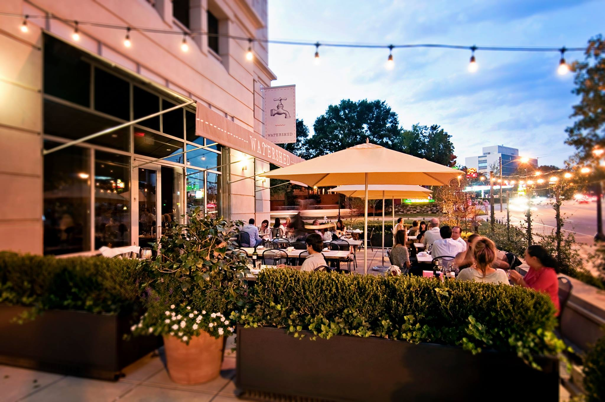 The Patio At The Watershed.