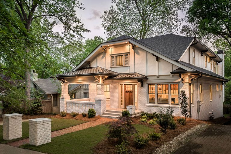 House Envy: This once run-down Craftsman, a block from Piedmont Park, was lovingly restored