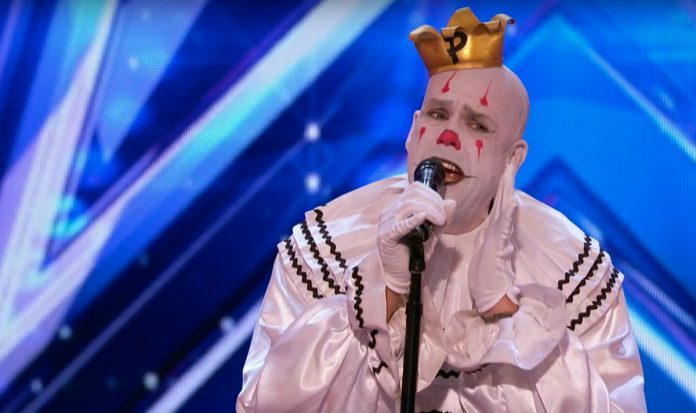 Puddles Pity Party clown America's Got Talent