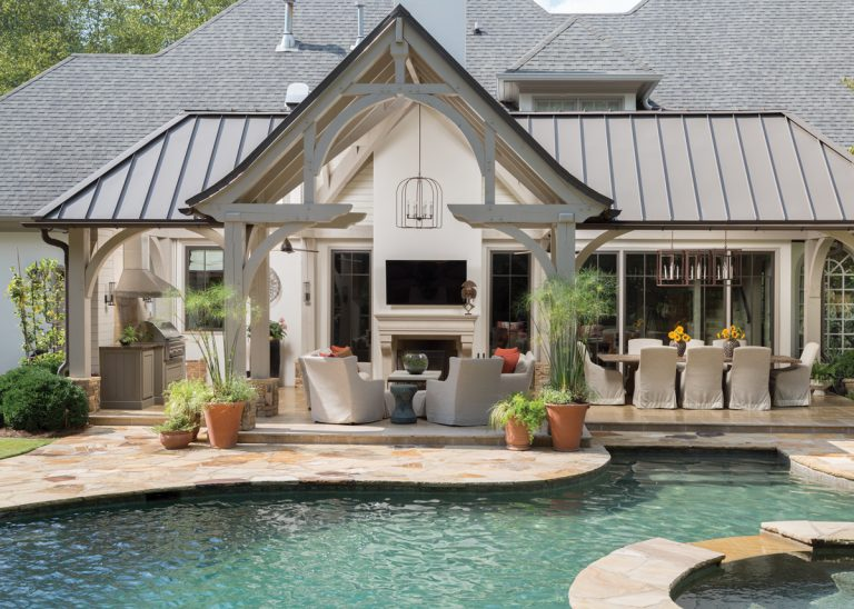 This outdoor pavilion is a slice of California in Buckhead
