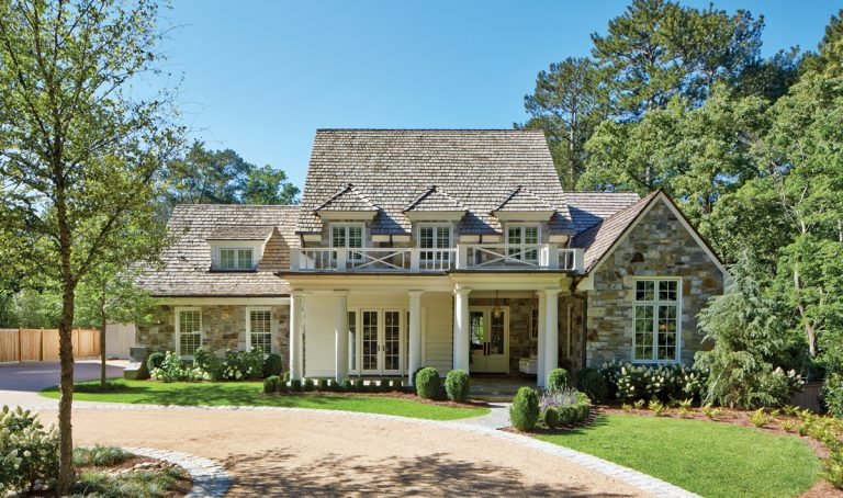 This new Buckhead home is the perfect blend of rustic and classic style