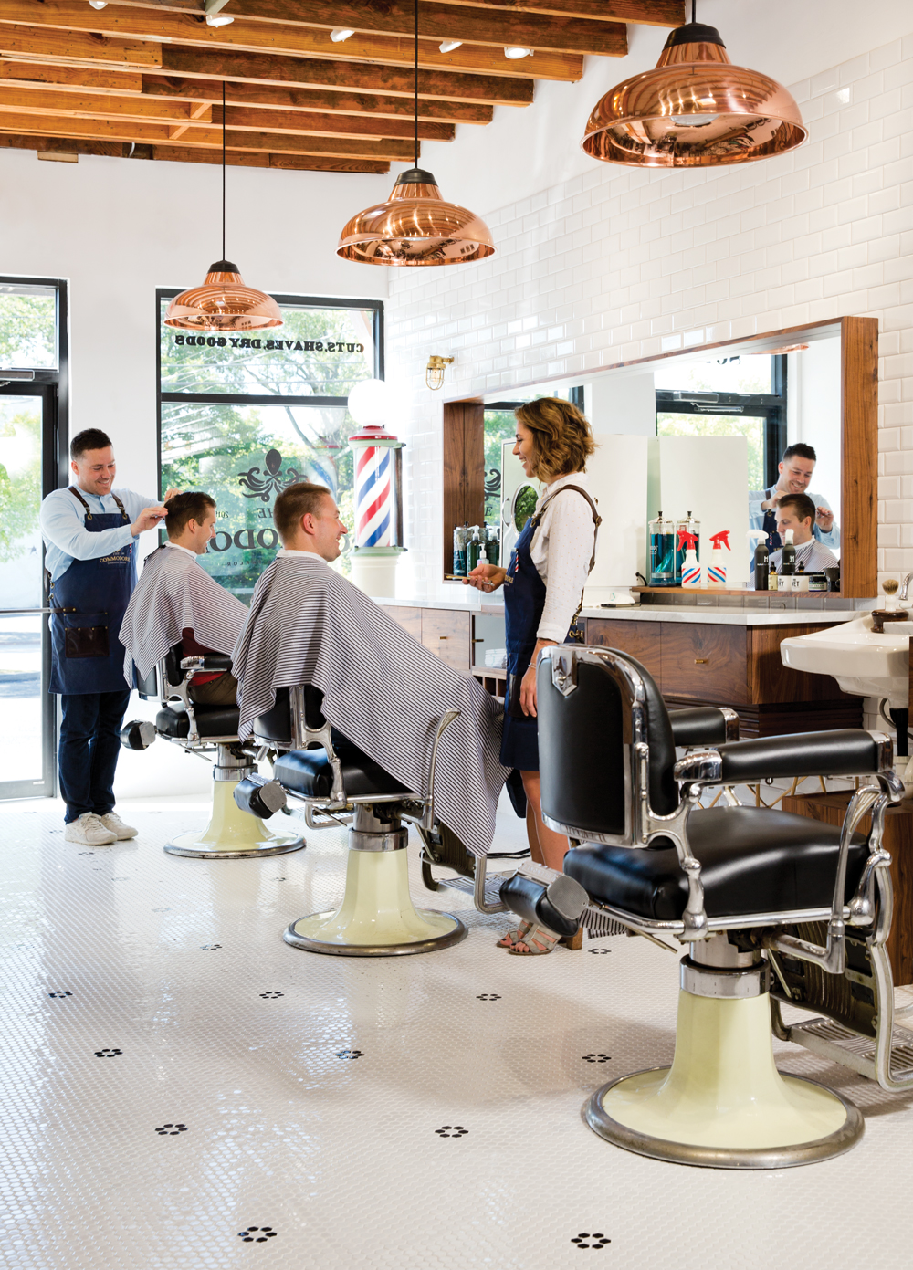 These Four Retro Barbershops In Atlanta Are Giving Throwback