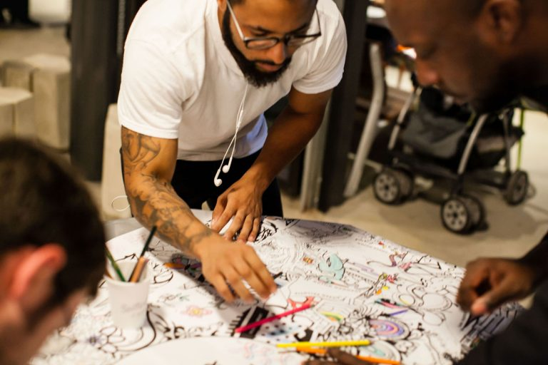 ColorATL, a local coloring book, sparks joy for those who need it most