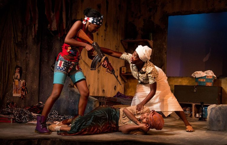 Danai Gurira's Eclipsed tells the harrowing story of war in Liberia—from women's point of view