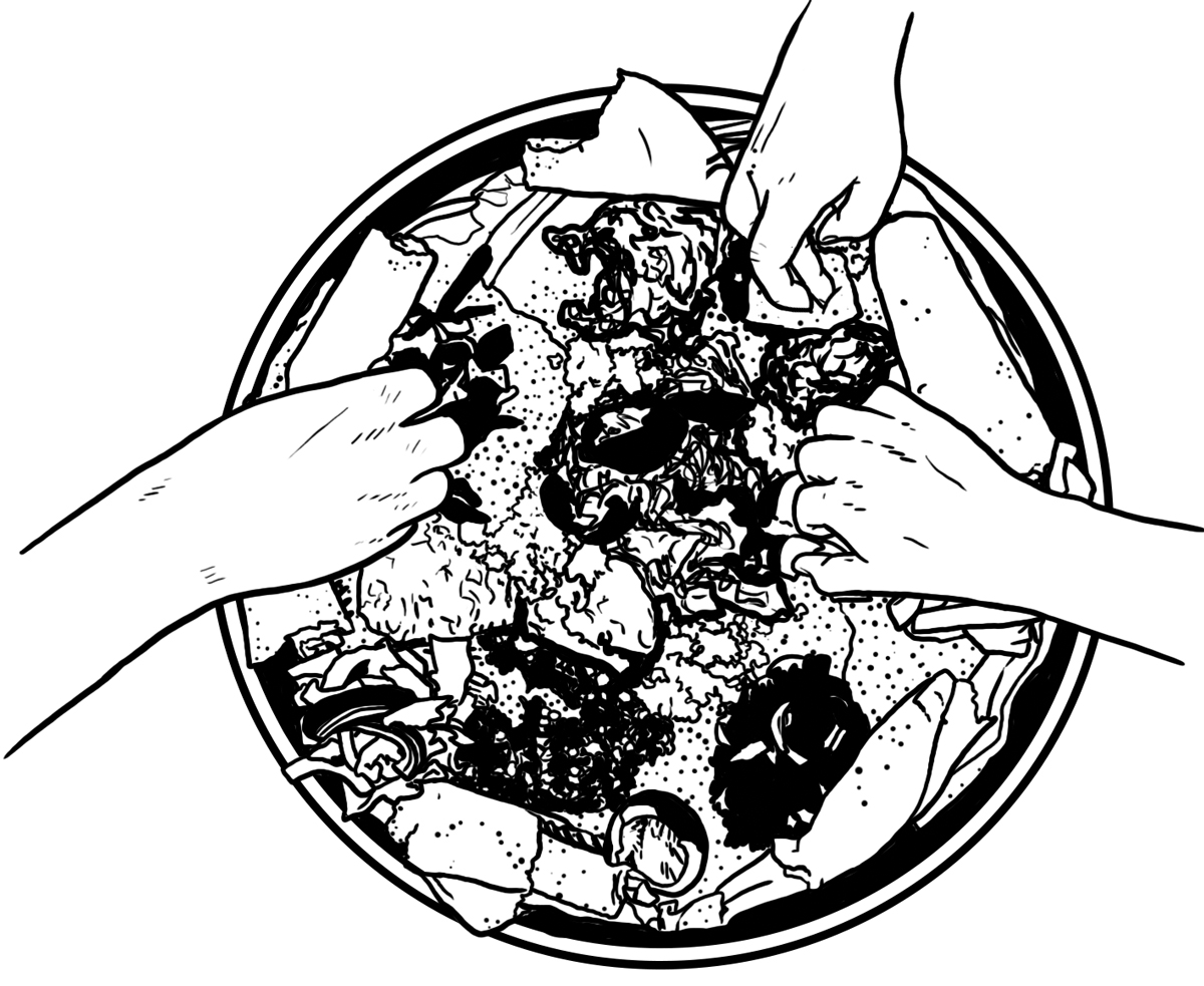 Eat with your hands