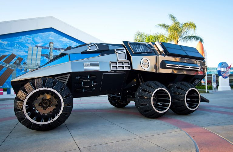 Hurry, go see this concept Mars rover while it's at SunTrust Park
