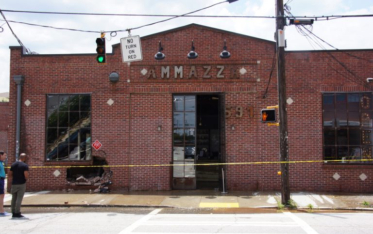 After cars hit the building twice, Ammazza won't reopen until next year
