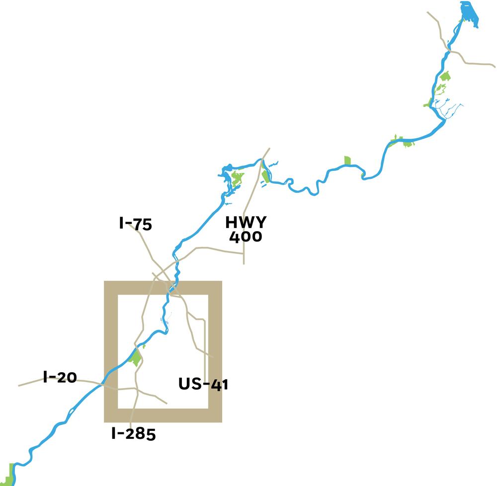 Chattahoochee Map