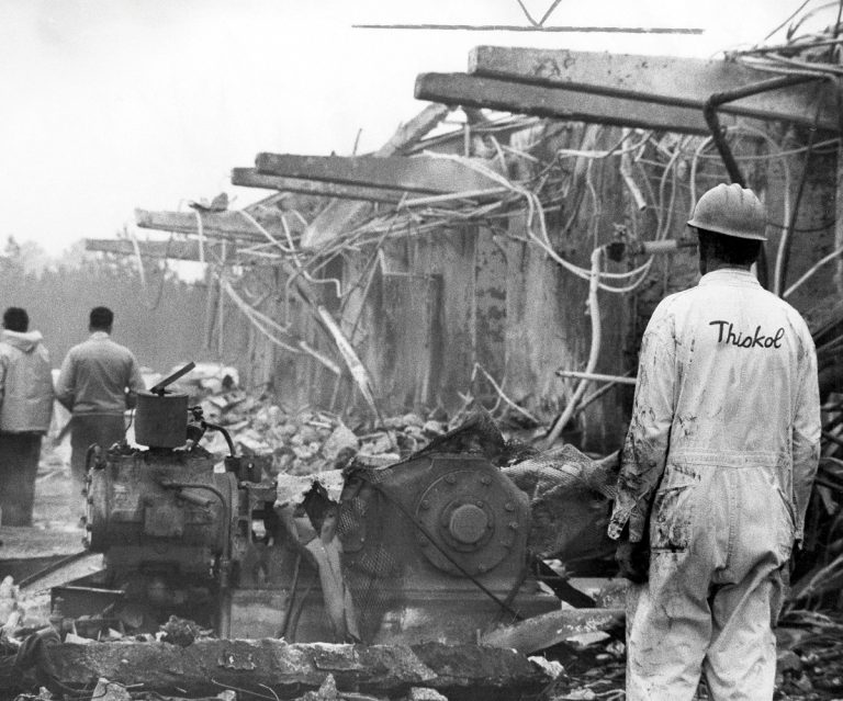The Thiokol factory explosion is a largely forgotten tragedy. Survivors want to change that.