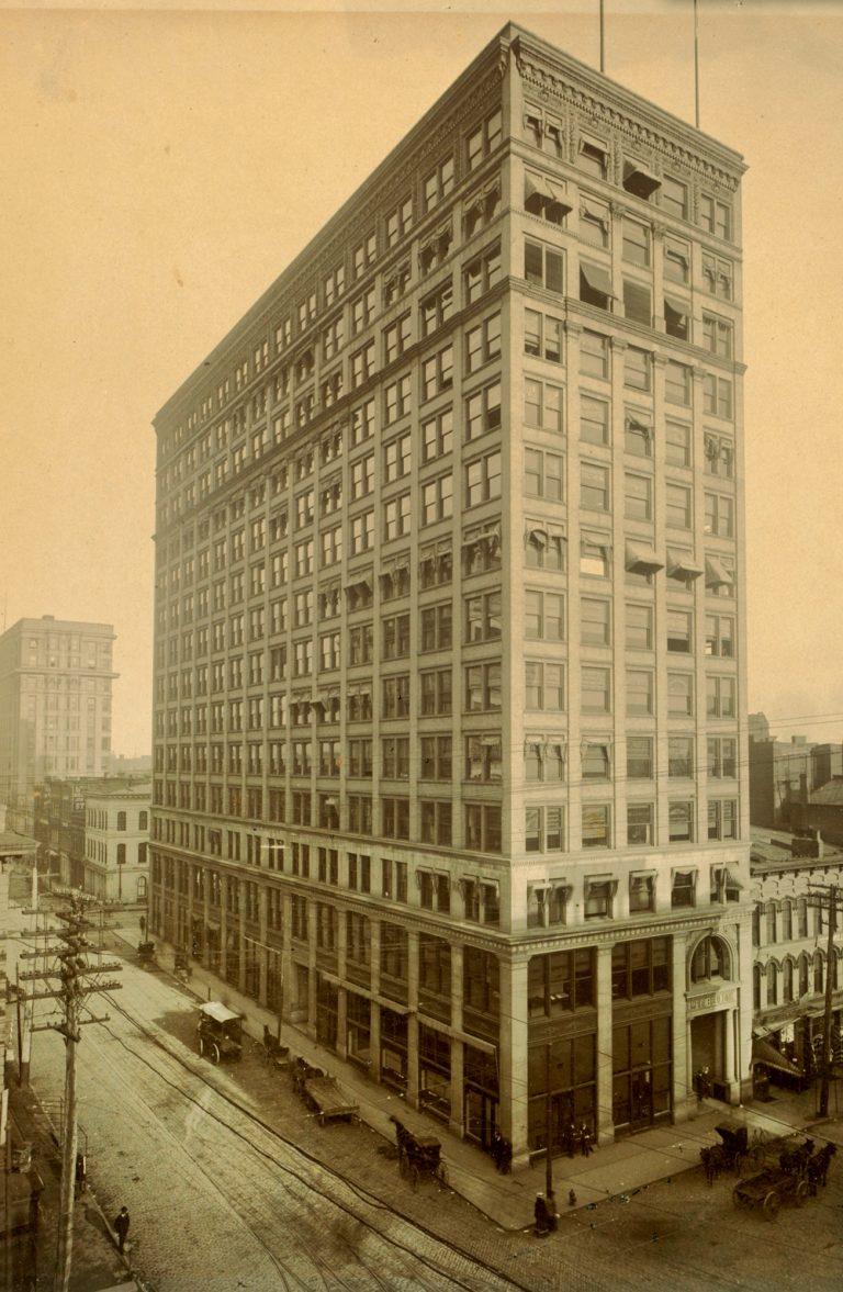 This was Atlanta's Empire Building circa 1900