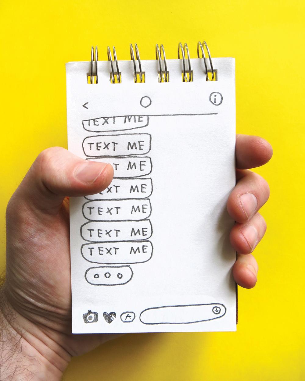 Text Me: How We Live Language