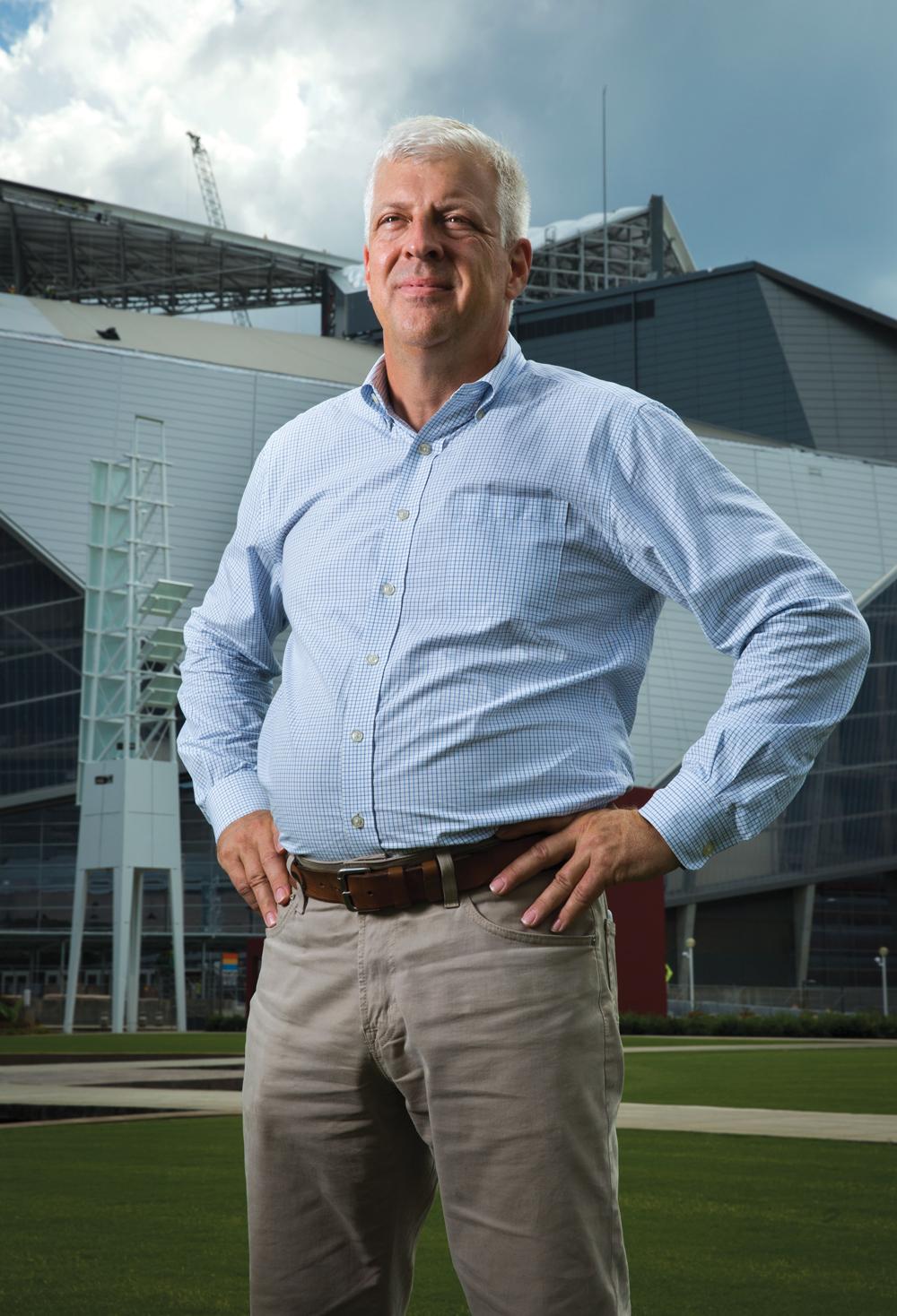 Mercedes-Benz Stadium Bill Johnson