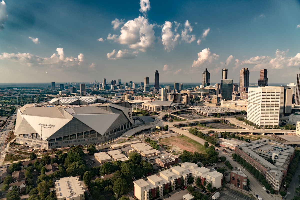 American Cathedral The Story Behind Mercedes Benz Stadium Atlanta