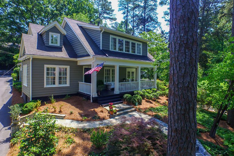 House Envy: This classic Craftsman in Buckhead's Peachtree Heights East overlooks the Duck Pond