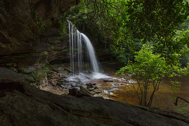 Panthertown Valley Waterfall
