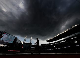 SunTrust Park rain delays