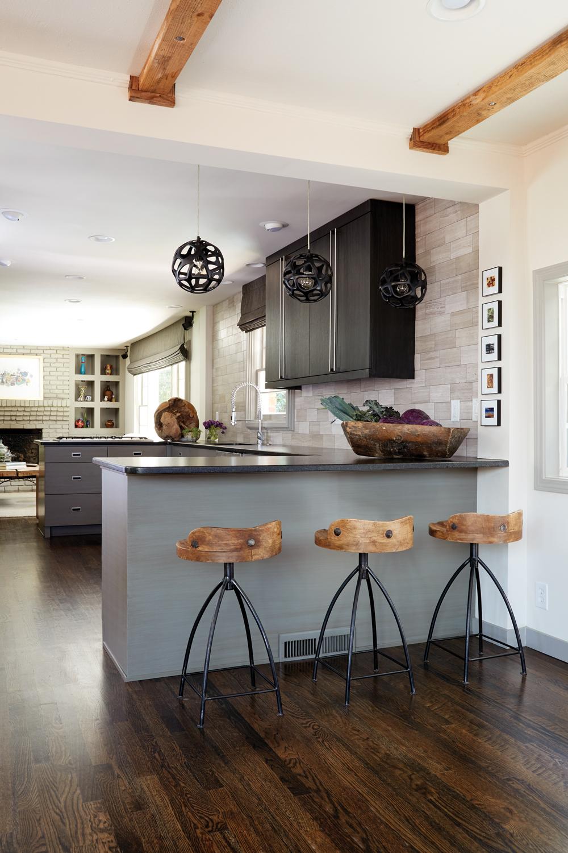 Get The Look Black Cabinet Kitchen Atlanta Magazine