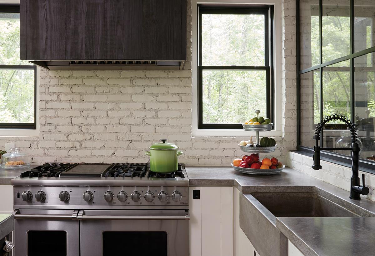 Get the look: Modern farmhouse kitchen - Atlanta Magazine on Farmhouse Countertops  id=30341