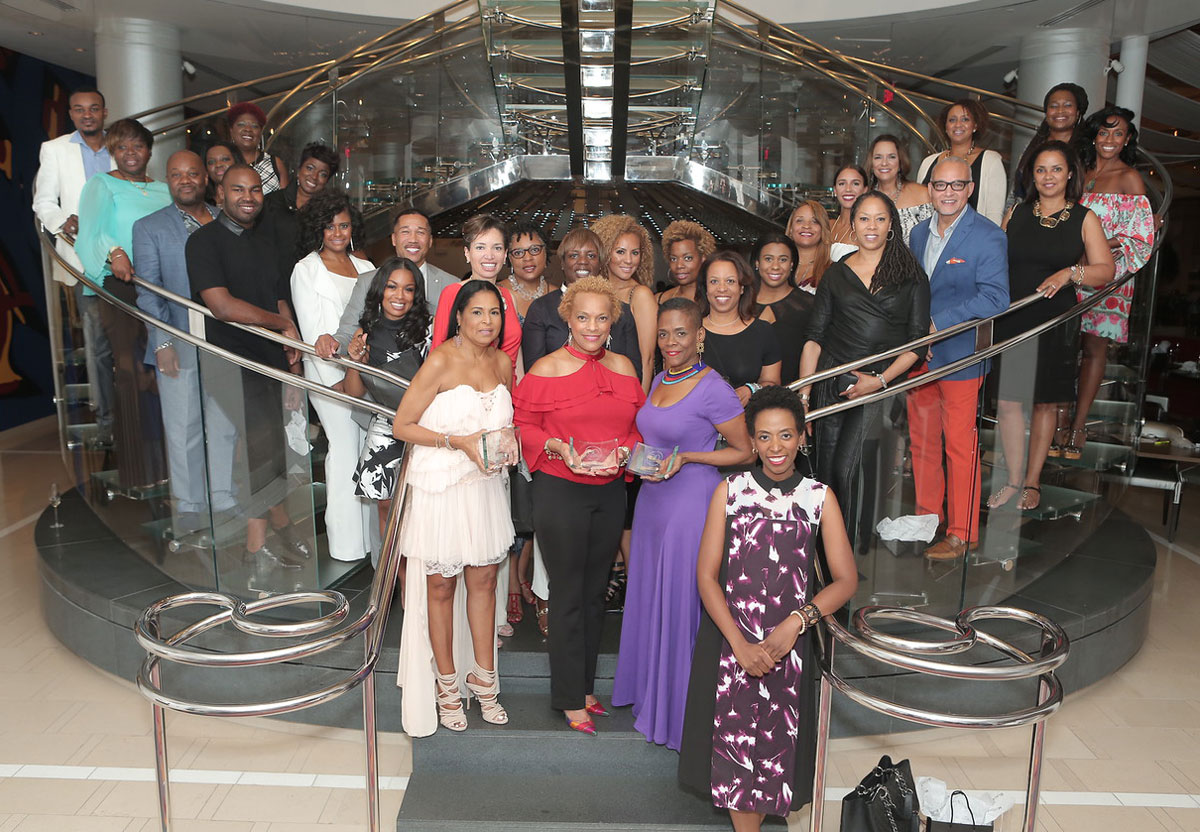 Merveilleux Kimberly Ward, Front Right, With Black Interior Designers Conference  Attendees At JP Atlanta Last Summer.