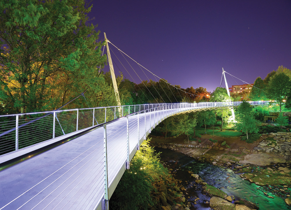 Liberty Bridge, Greenville, South Carolina